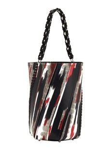 Proenza Schouler Hex Large Whipstitch Brushstroke Bucket Bag