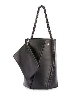 Proenza Schouler Hex Medium Whipstitch Leather Bucket Bag
