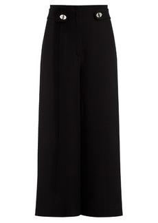 Proenza Schouler High-rise wide-leg cady culottes