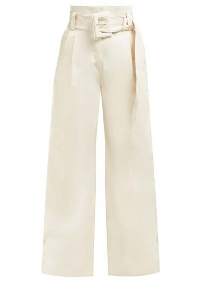 Proenza Schouler High-rise wide-leg jeans