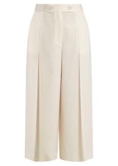 Proenza Schouler High-rise wool culottes