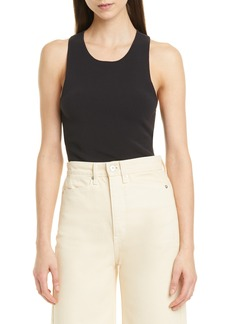 Proenza Schouler Interlock Cutout Back Knit Tank Top