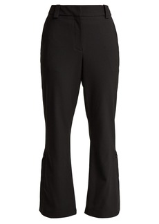 Proenza Schouler Kick-flare cropped wool-blend trousers