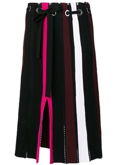 Proenza Schouler knit pleated skirt - Multicolour