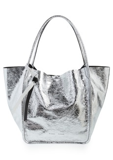 Proenza Schouler L -Super Glass Metallic Leather Tote