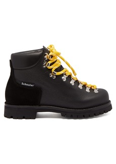 Proenza Schouler Lace-up leather après-ski boots