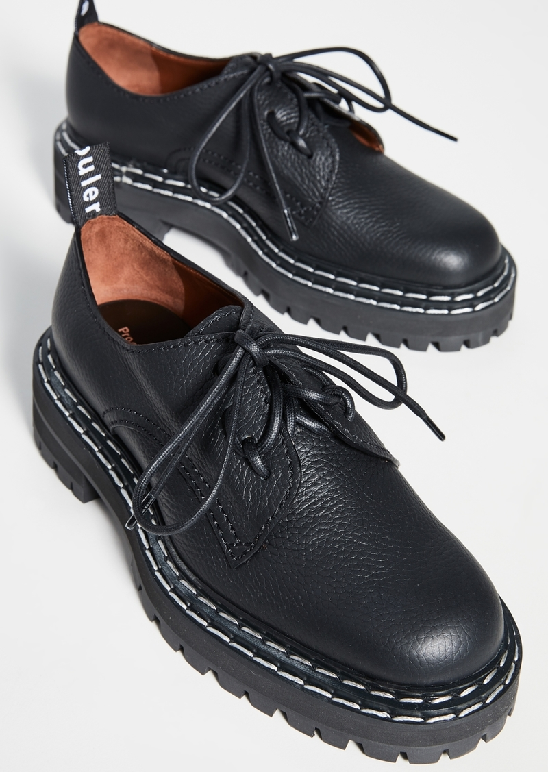 Proenza Schouler Laced Oxfords