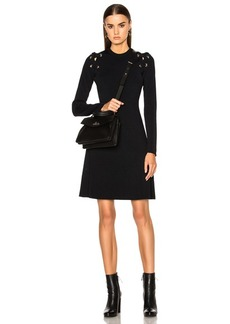 Proenza Schouler Lacing Viscose Dress