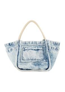 Proenza Schouler Large Denim Tote Bag