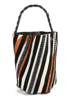 Proenza Schouler 'Large Hex' Whipstitch Bucket Bag