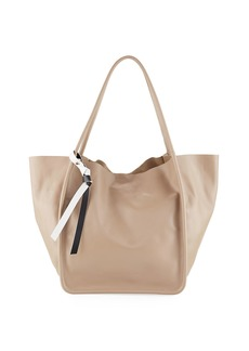 Proenza Schouler Large Smooth Leather Tote Bag