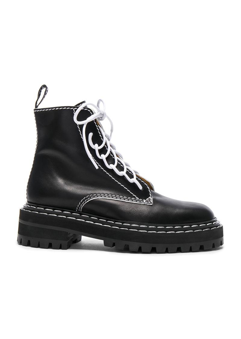 Proenza Schouler Leather Boots Under 70 Dollars Buy Cheap Comfortable Outlet Newest l7Flij4D