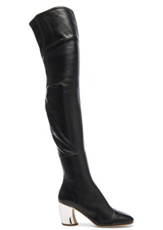Proenza Schouler Leather Over the Knee Boots