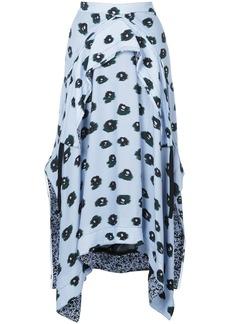 Proenza Schouler Long skirt - Blue