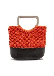 Proenza Schouler Market macramé mini bag