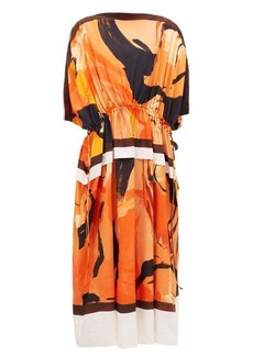 Proenza Schouler Marocaine dolman-sleeve crepe dress