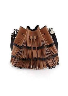 Proenza Schouler Medium Fringe Bucket Bag