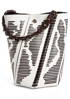 Proenza Schouler Medium Hex Leather Bucket Bag