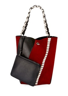 Proenza Schouler Medium Hex Whipstitch Bucket Bag
