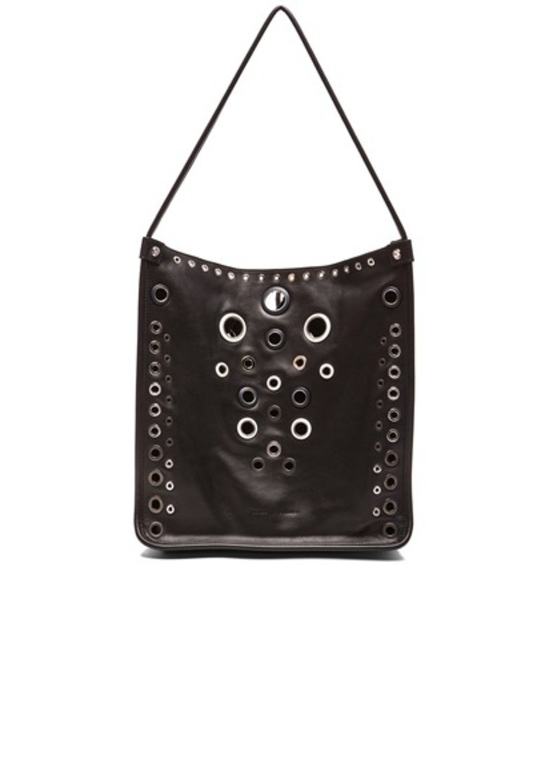 Proenza Schouler Medium Leather Tote with Grommets