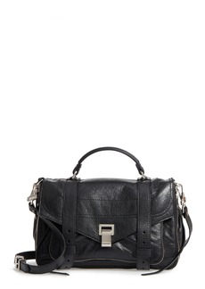 Proenza Schouler Medium PS1 Paper Leather Satchel
