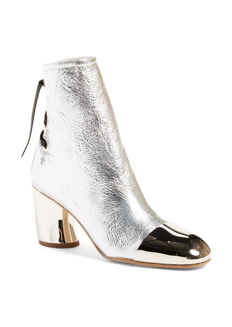Proenza Schouler Metallic Cap Toe Boot (Women)