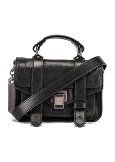 Proenza Schouler Micro PS1 Leather Bag