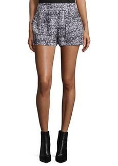Proenza Schouler Mid-Rise Side-Zip Shorts