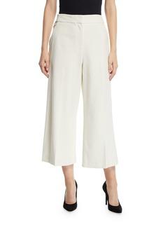 Proenza Schouler Mid-Rise Wide-Leg Cropped Culottes