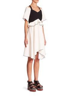Proenza Schouler Off-The-Shoulder Dress