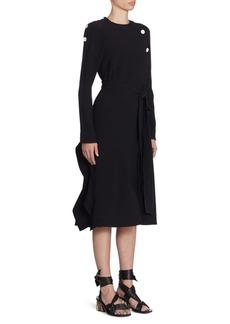 Proenza Schouler One-Sleeve Bandage Dress
