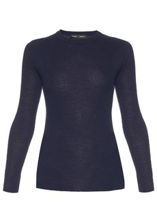 Proenza Schouler Open-back long-sleeved knit sweater