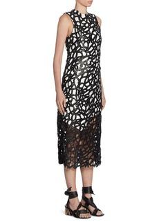 Proenza Schouler Open Lace Dress