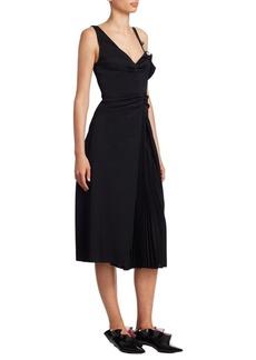Proenza Schouler Cold-Shoulder Dress