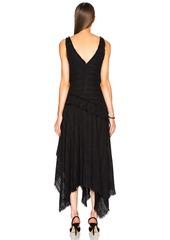 Proenza Schouler Open Weave Tweed Dress