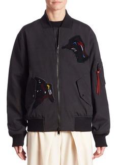 Proenza Schouler Patches Bomber Jacket
