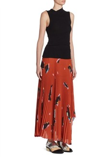 Proenza Schouler Pleated Asymmetric Dress