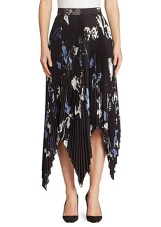Proenza Schouler Pleated Handkerchief Skirt