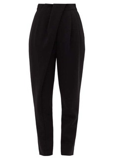 Proenza Schouler Pleated-waist draped tailored trousers