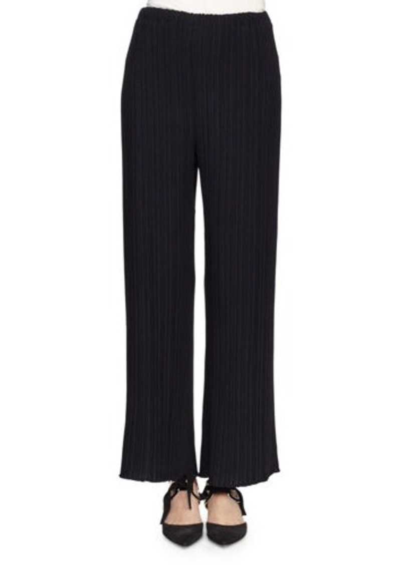 Proenza Schouler Pleated Wide-Leg Suiting Pants