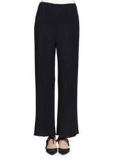 Proenza Schouler Pleated Wide-Leg Suiting Pants