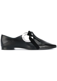 Proenza Schouler Pointed Flat - Black