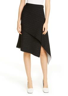 Proenza Schouler Pointelle Knit Asymmetrical Skirt