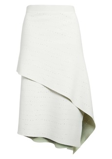 Proenza Schouler Pointelle Knit Asymmetrical Skirt