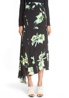 Proenza Schouler Print Asymmetric Hem Skirt