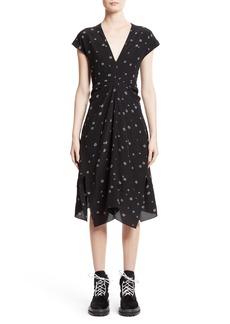 Proenza Schouler Print Silk Dress