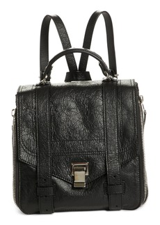 Proenza Schouler PS1 Leather Convertible Backpack