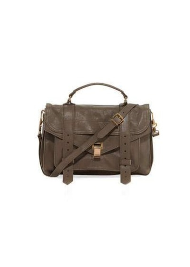 Proenza Schouler Proenza Schouler PS1 Medium Suede Satchel Bag ...