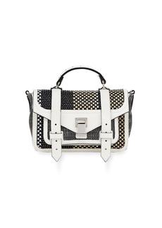 Proenza Schouler PS1+ Tiny Mixed Woven Shoulder Bag