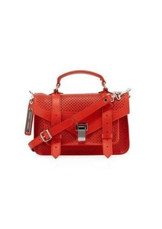 Proenza Schouler PS1 Tiny Perforated Satchel Bag